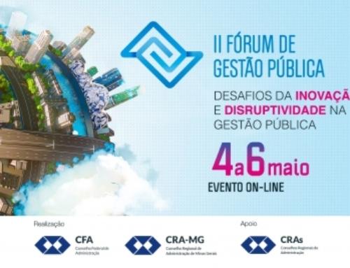 II Fórum de Gestão Pública: condições especiais para os registrados no sistema CFA/CRAs